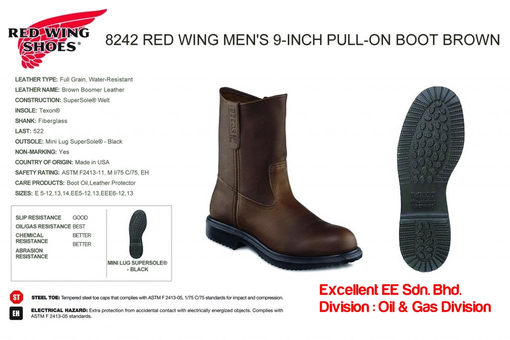 Excellent EE Sdn Bhd - Red Wing 8242